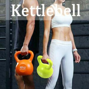 2pcs Kettlebells Set Kettlebell Weight Weights Sets Exercise Home Gym Stand UK