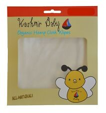 Kashmir Baby 30 Pk Organic Hemp/Bamboo Cloth Diapering/ Diaper Wipes. Reusable.