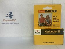 (CL) Kodak Kodacolor II C126-20 Color Film Cartridge 20 Exposures New Exp. 1978
