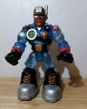 VINTAGE 2001 JAKE JUSTICE 6in. RESCUE HEROES VOICE TECH w/ELECTRONICS