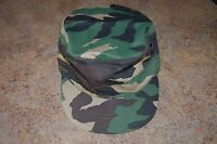 UNOFFICAL US Army Military Woodland Camouflage Hot Weather Cap Size XL NWT