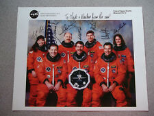 STS-73 Autographed 8X10 NASA Crew Photo