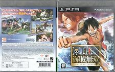 Gioco ps3 ONE PIECE kaizoku Musou Pirate Warriors 1 GIAPPONESE NUOVO