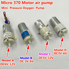 DC3V-12V 6V 9V Small 370 Motor Mini Oxygen Air Pump for Aquarium Fish Water Tank