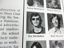Jim McMahon 1976 Roy High School Yearbook Utah Chicago Bears Super Bowl Football