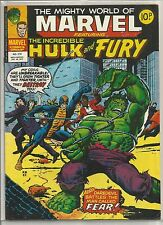 Mighty World of Marvel / Incredible Hulk : comic book #274 from December 1977