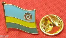 Rwanda Country Flag Lapel Hat Cap Tie Pin Badge Repubulika y'u Rwanda République