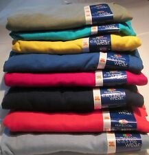 Men's Women T-Shirt Fruit of The Loom 3XL 8 Pc 8 colors 100 % Cotton