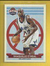 Shaquille O'Neal 2012-13 Past & Present Card # 123 Orlando Magic Basketball