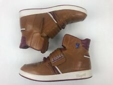 Coogi Austrakia High Top Leather Athletic Brown Shoes Boots Men 10