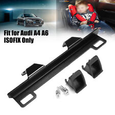 Plate Latch ISOFIX Belt Connector Interfaces Bracket Safety Seat For Audi A4 A6