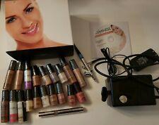 EUC 3 Speed Luminess Air Airbrush Makeup Legend System Machine PC-250BK Black