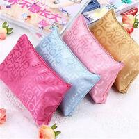 1pc Portable Cosmetic Bag Fashion Beauty Women Zipper Travel Make Up Bag Case