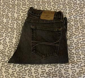 Hollister Jeans Grau Grey Slim W32 L30