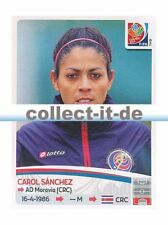 Panini Frauen WM World Cup 2015  - Sticker 390 - Carol Sanchez