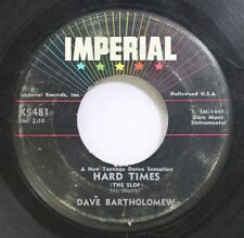 Hear! Jazz Instr. 45 Dave Bartholomew - Hard Times / Cinderella On Imperial