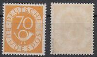 Bund, Nr. 136, postfrisch, geprüft Schlegel BPP