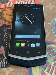 Genuine Vertu Constellation V Android Luxury Phone in Black Super RARE Must Have