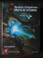 Space Empires: Replicators expansion by GMT Games 2017 mint in shrink