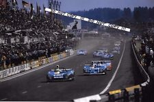 9x6 Photograph Pescarolo / Jarier ,  Matra-Simca MS670B  Le Mans 24hrs 1974