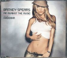 Britney Spears Feat. Madonna - Me Against The Music 4 Tracks Cd Perfetto