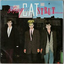 Stray Cats    Stray Cat Strut, Rock This Town, Little Miss Prissy 45 RMP Import