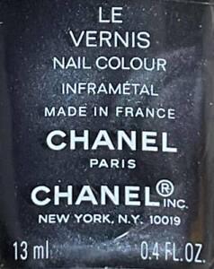Chanel nail polish INFRAMETAL rare limited edition VINTAGE