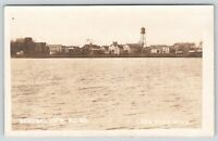 Lake Park MN~View From Over Duck Lake~Shore Homes~Water Tower~Windmill~RPPC 1922