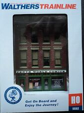 WALTHERS TRAINLINE  TENTH (10th) WORLD COMICS  BUILDING   931-807  HO   BUILT UP