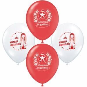 Kina gecesi Henna Abend Kina süs Kina dekorasyon Bayrak Luftballons Fahnenkette