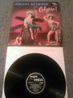JOHNNY DESMOND - GOES CALYPSO LP / RARE UK 1ST PRESS VOGUE CORAL LVA 9059