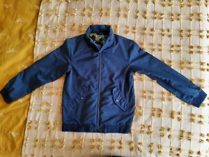 Ted Baker Boys Blue Jacket Age 13 With Hidden Hood **Excellent Condition**