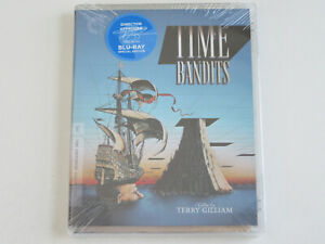 TIME BANDITS (Blu-ray, Criterion) with Terry Gilliam SIGNATURE STICKER RARE!!!