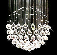 Contempo Collection Contemporary Modern Chandelier -Pendant K9 Crystals - Giant