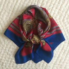 Vintage~The Specialty House~100% Silk~Scarf~Made in Japan~Coats of Arms~Belts