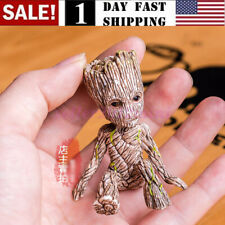 US! Guardians of The Galaxy Vol. 2 Baby Sitting Groot Figure Toy Xmas Gift