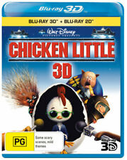 CHICKEN LITTLE 3D (3D BLU-RAY/BLU-RAY) [NEW BLURAY]