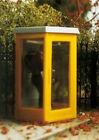 HO Scale Scale Telephone booth-lighted. BRAWA. Brand New