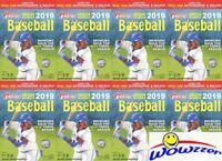 (8) 2019 Topps Heritage High Number Baseball Factory Sealed HANGER Box-280 Cards