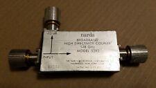 Narda Microwave 5292 1-18GHz -13dB Alto Dirección Direccional RF Acoplador #3503