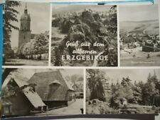 DDR Foto-Postkarte, Gruß aus dem Erzgebirge, Annaberg-Buchholz, Frohnauer Hammer
