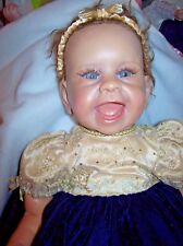 "ASHTON DRAKE / LINDA MURRAY 21INCH RESIN SIGNATURE EDITION ""PRINCESS ANGELINA"""