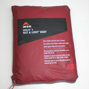 MSR FreeLite 2 Fast and Light Tent Body - New