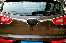 For Kia Sportage 2010 2011 2012 2013 2014 Chrome Car rear trunk lid cover trim