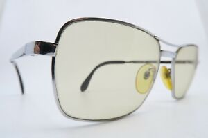 Vintage 70s sunglasses RODENSTOCK LUGANO steel glass lens made in Germany