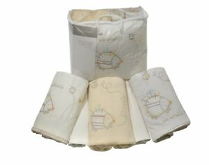 Baby Spike and Buzz 5 Piece Bedding Bale Cot Bed Coverlet