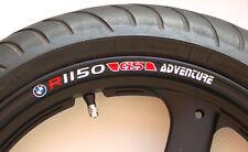 Bmw R1150 Gs Aventura Rueda Llanta calcomanía de pegatinas R1150gs