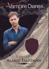 VAMPIRE DIARIES SEASON 1 COSTUME WARDROBE CARD MATT DAVIS AS ALARIC