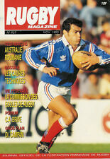 RUGBY No 937 Nov 1993 OFFICIAL MAGAZINE OF THE FFR - FRANCE