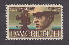 US Sc 1555 MNH. 1975 10c D.W. Griffith, brown color shift